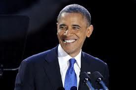 President Obama election night 2012