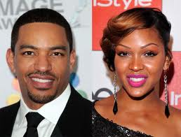 Meagan Good and Laz Alonso 1
