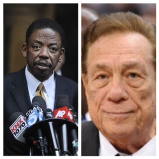 Carl Douglas and Donald Sterling Pic 1