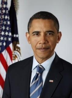 President Obama Head Shot