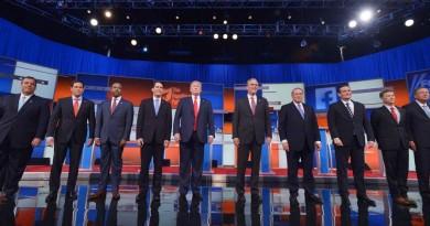 First GOP Debate Pic 1
