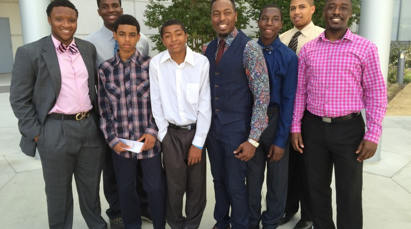 Rev. Michael Fisher and Youth Pic 1