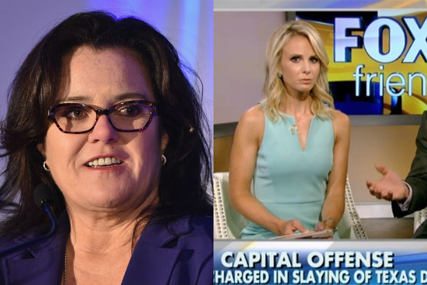 """Black Lives Matter"" at the center of Rosie O'Donnell, Elizabeth Hasselbeck feud"
