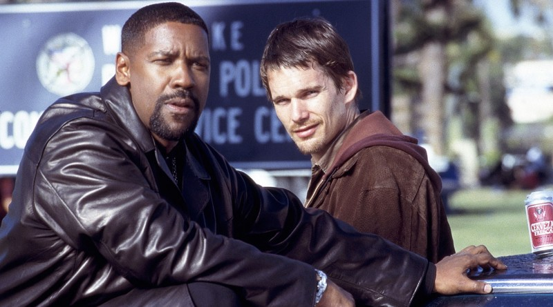 Training Day (2001) Directed by Antoine Fuqua Shown: Denzel Washington (as Alonzo), Ethan Hawke (as Jake)