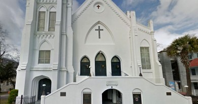 Google Maps image of Mother Emanuel AME Church on Calhoun St Charleston, South Carolina