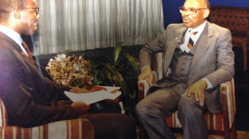 Dr. Floyd Massey and Michael Reel Pic
