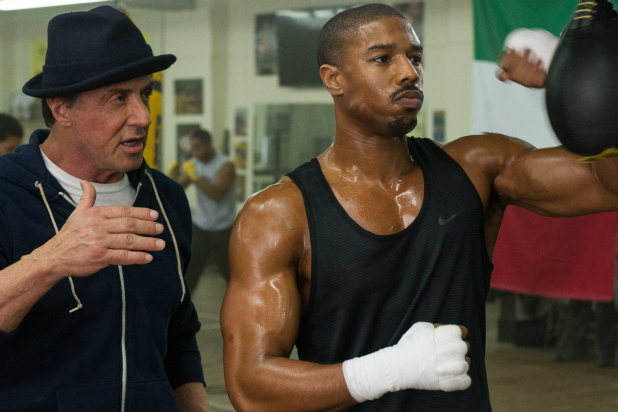 "Sylvester Stallone Is Ringside In ""Creed"" Staring Michael B. Jordan"