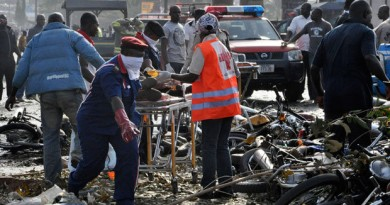 Nigeria Bomb Blast Today