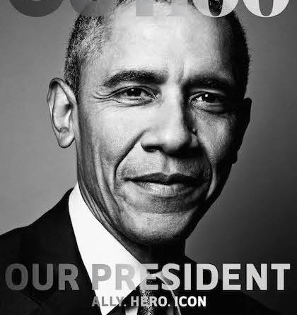 Obama on Out Cover