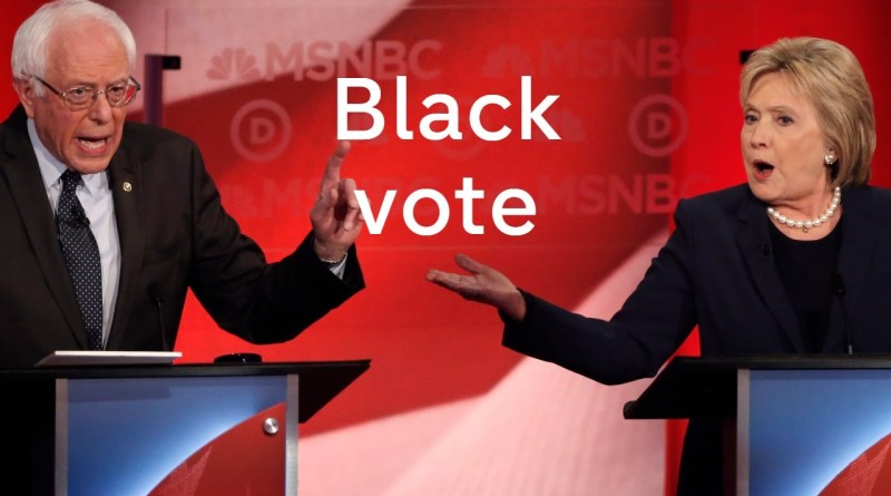 Hillary and Bernie The Black Vote
