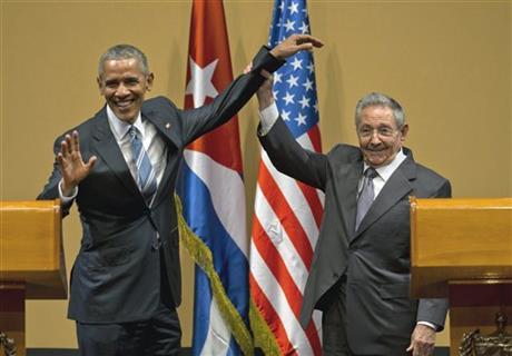 Obama Castro Pic 1