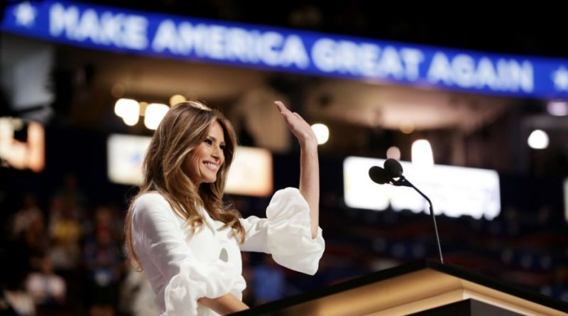 Did Melania Trump plagiarize potions of Michelle Obama's speech in 2008?