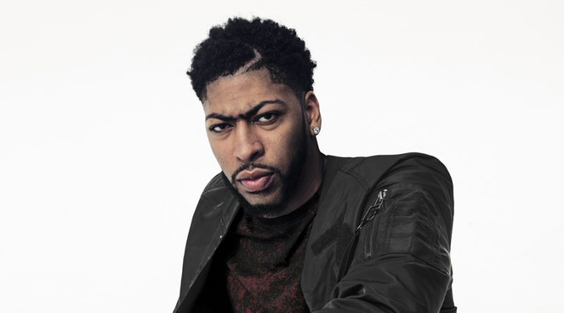 Anthony Davis teams up with Saks Fifth Ave for Men's Wear Collection