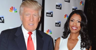 Donald Trump with Omarosa Manigault