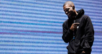 PEMBERTON, BC - JULY 20:  Frank Ocean performs on stage during Day 3 of Pemberton Music and Arts Festival on July 20, 2014 in Pemberton, Canada.  (Photo by Andrew Chin/FilmMagic)