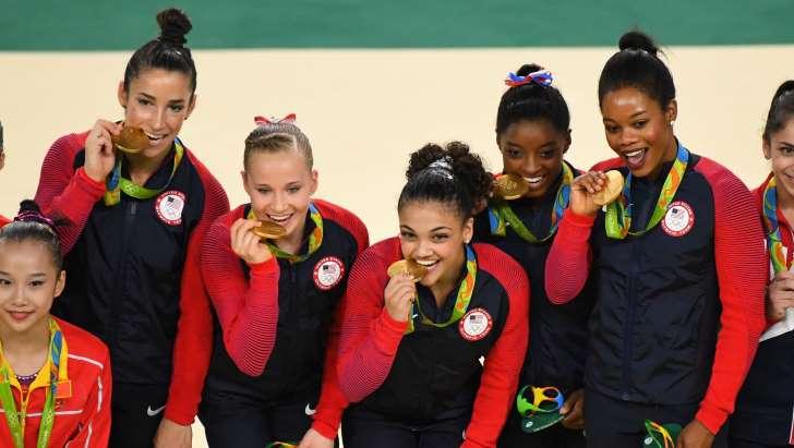 U.S. Women Gymnast