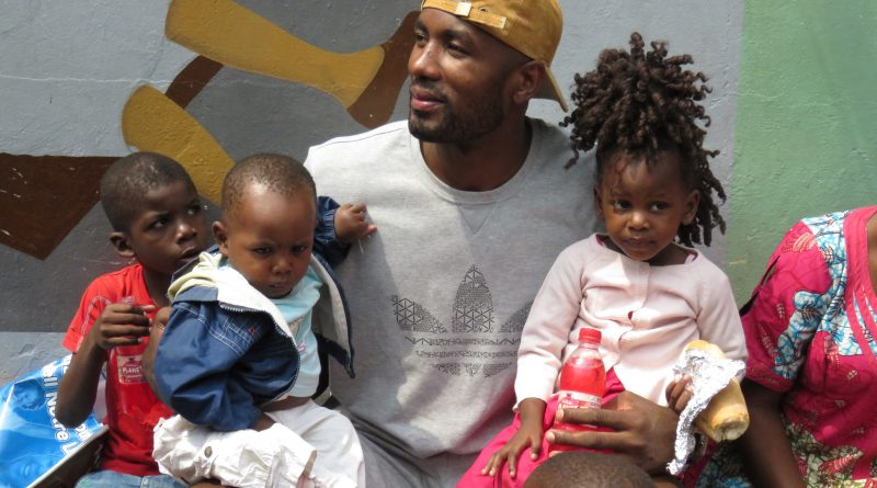 NBA's Serge Ibaka On His Congo Fundraising Trip and Kevin Durant