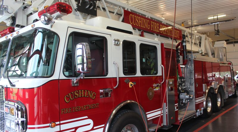 Cushing Fire Department A 21st Century Fire Fighting Force