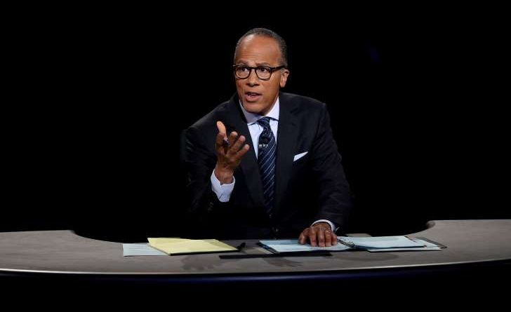 Lester Holt's Moderating of the first One on One Presidential Debate of 2016 Garners Praise
