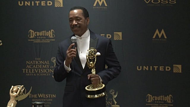 """The Bold and the Beautiful"" Obba Babatundé On-Set Exclusive Part II (Watch)"