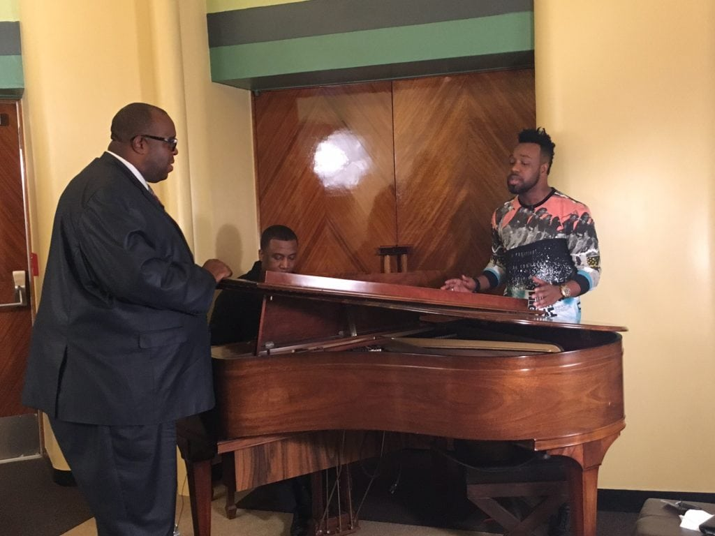 Global Gospel Recording Artist, VaShawn Mitchell, SECRET PLACE: Live in South Africa w/Michael Reel, Reel Urban News and Theo Gearring, Jr. at the piano.
