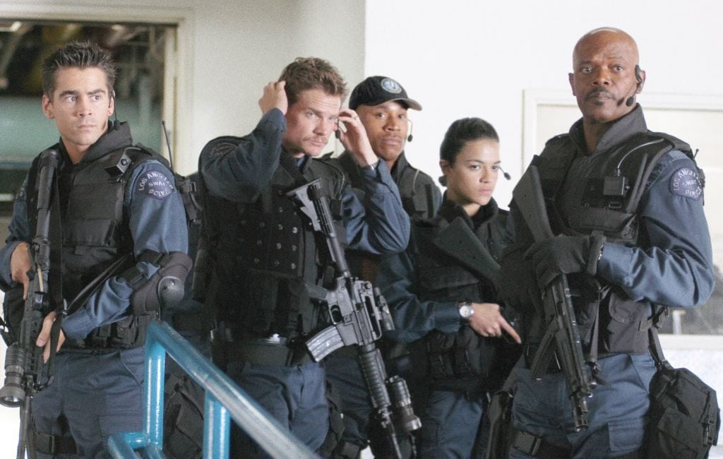 SWAT movie cast