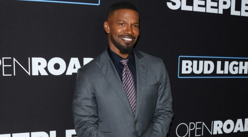 "Jamie Foxx under racial attack while filming ""Robin Hood"" in Croatian"