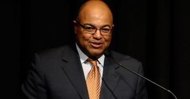 "NEW YORK, NY - AUGUST 24: Mike Tirico speaks during Syracuse University special screening of the HBO documentary ""GLICKMAN"" at Time Warner Center Screening Room on August 24, 2013 in New York City.  (Photo by Ilya S. Savenok/Getty Images for HBO)"