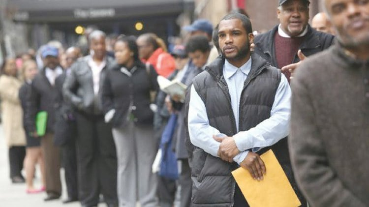 The Black community in Los Angeles experiencing Jobs Crises; according to UCLA report