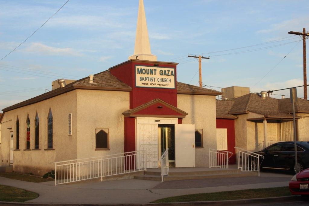Mt. Gaza Baptist Church 1000 Whitemarsh Street, Compton, Ca.