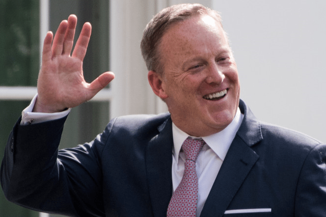 Sean Spicer Meeting with Leading TV and News Networks