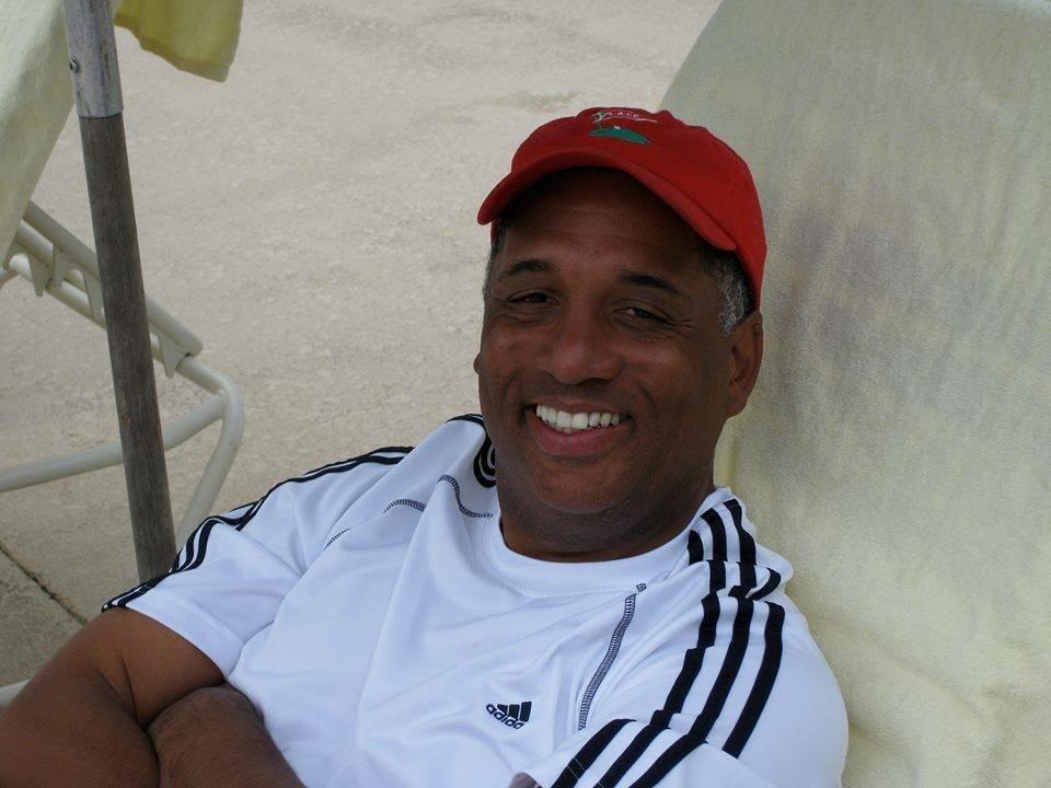 Kurt M. Hocker, smiling and relaxing.