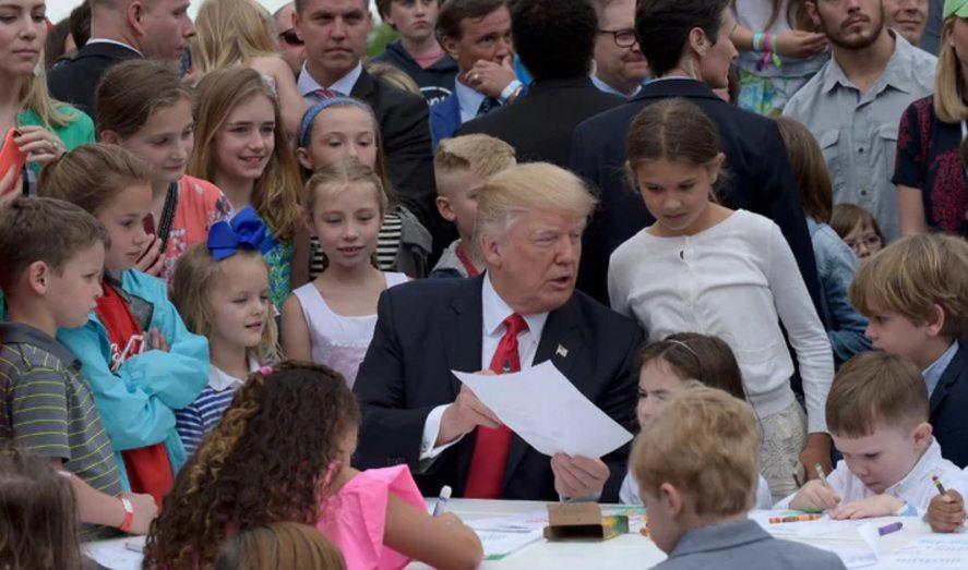 Trump with Children 5