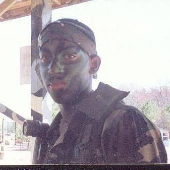 A young Farron Dozier in the U.S. Army