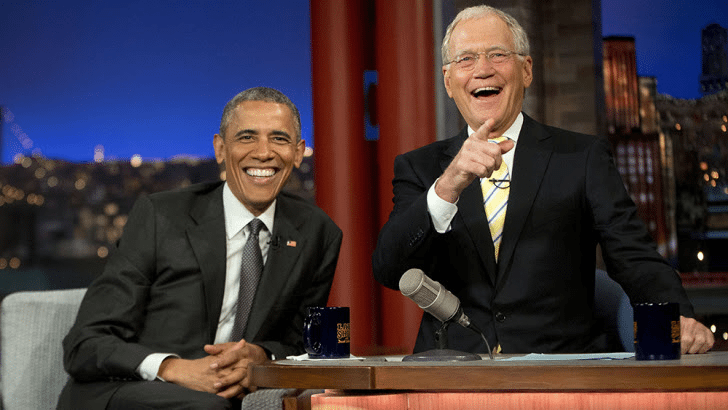 Barack Obama will be David Letterman's first guest on Netflix