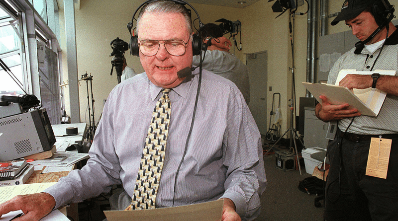 """Whoa Nellie"" Keith Jackson, the legendary voice of college football has died at 89."