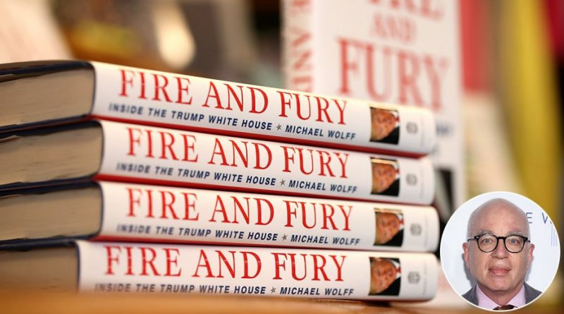 """Fire and Fury"" author Michael Wolff -vs- Donald Trump"