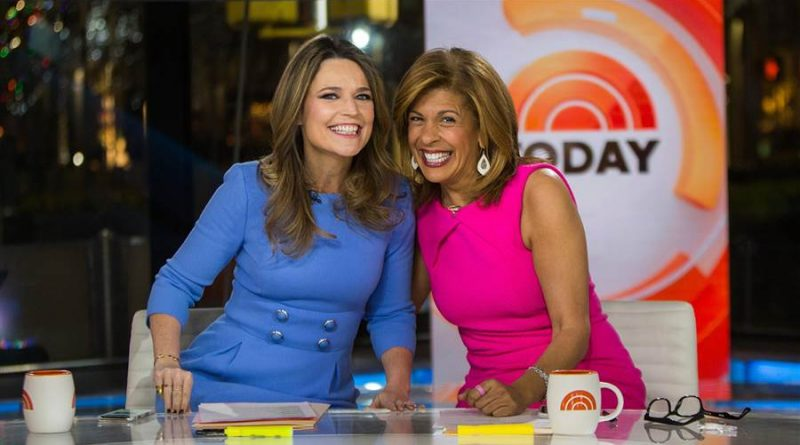"Savannah Guthrie and Hoda Kotb co-anchor NBC News ""TODAY"""
