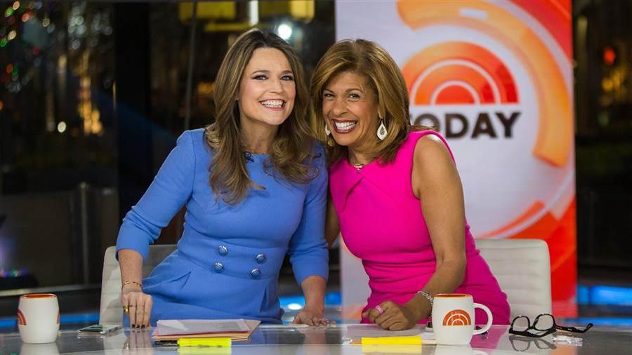 """Savannah Guthrie and Hoda Kotb co-anchor NBC News """"TODAY"""""""